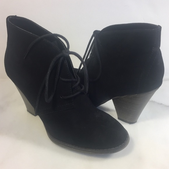 Mia Shoes - MIA Lace Up Booties Size 6.5